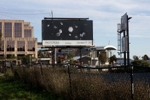 Blood Galaxy - Photopolis billboard