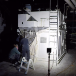 Video: http://kimmorgan.ca/wp-content/uploads/2020/07/Kim-Morgan-Kailtyn-Bourden-Anatomy-of-an-Abattoir-Gas-Chambre.mp4